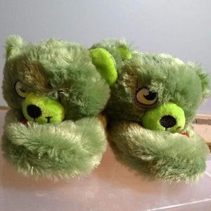 Build a Bear Zombie Slippers